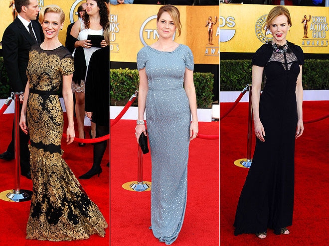 SHORT SLEEVES photo | January Jones, Jenna Fischer, Nicole Kidman