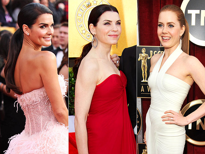 PONYTAILS  photo | Amy Adams, Angie Harmon, Julianna Margulies