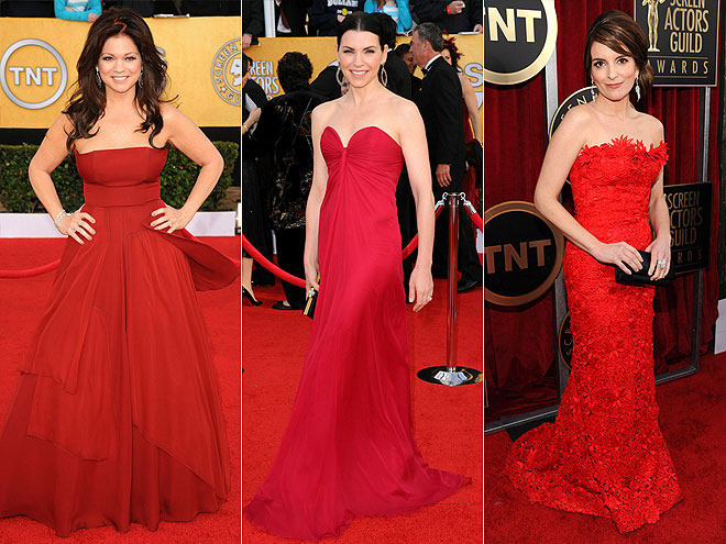 RED  photo | Julianna Margulies, Tina Fey, Valerie Bertinelli