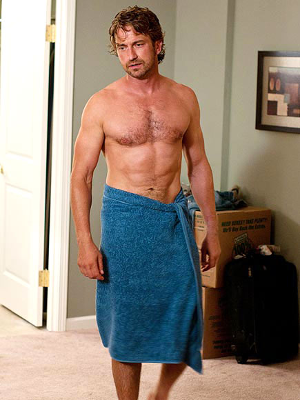 25 Sexy Chests To Be Thankful For GERARD BUTLER Peoplecom