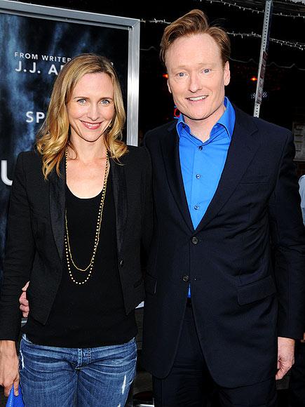 Conan O'brien Wife Liza Powel Liza Powel Photo | Conan O'