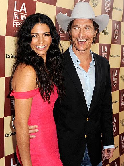 CAMILA ALVES  photo | Camila Alves, Matthew McConaughey