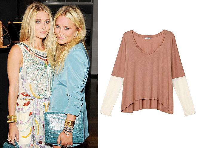 MARY-KATE AND ASHLEY OLSEN: THE HUDSON TEE