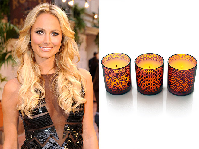 STACY KEIBLER: FLAMELESS CANDLES photo | Stacy Keibler
