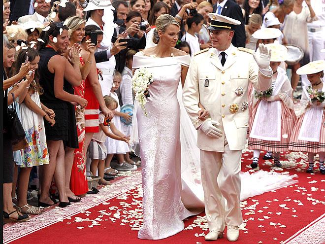 PRINCESS BRIDE  photo | Charlene Wittstock, Prince Albert