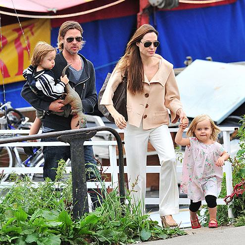 IT TAKES TWO  photo | Angelina Jolie, Brad Pitt