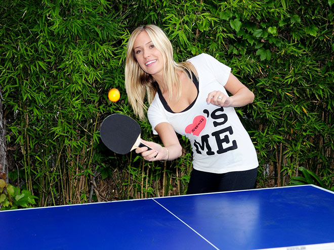 HAVING A BALL