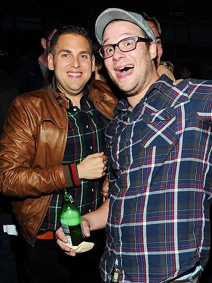 PLAID PAIR photo | Jonah Hill, Seth Rogen