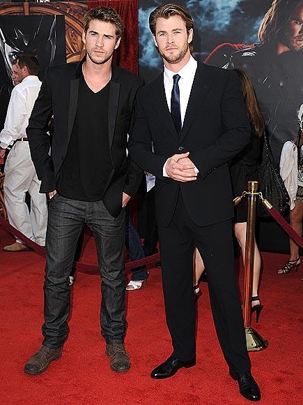 THE HEMSWORTHS photo   Chris Hemsworth, Liam Hemsworth
