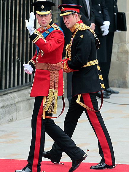 THE PRINCES photo | Prince Harry, Prince William