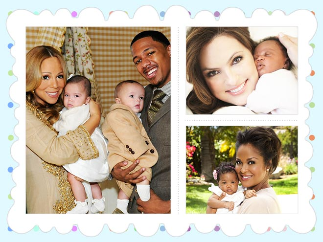 APRIL photo | Laila Ali, Mariah Carey, Mariska Hargitay, Nick Cannon
