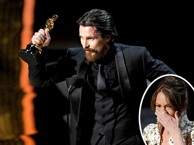 photo   Christian Bale, Melissa Leo