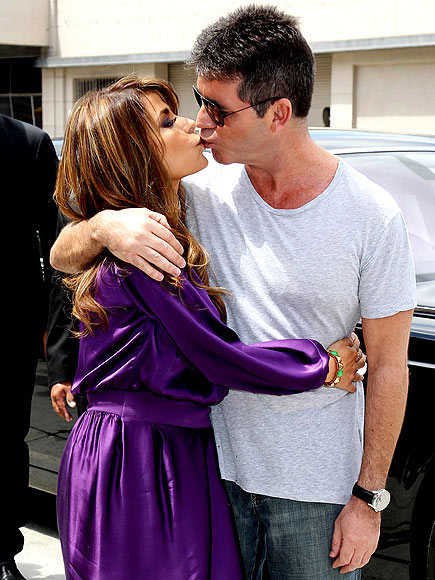 photo | Paula Abdul, Simon Cowell