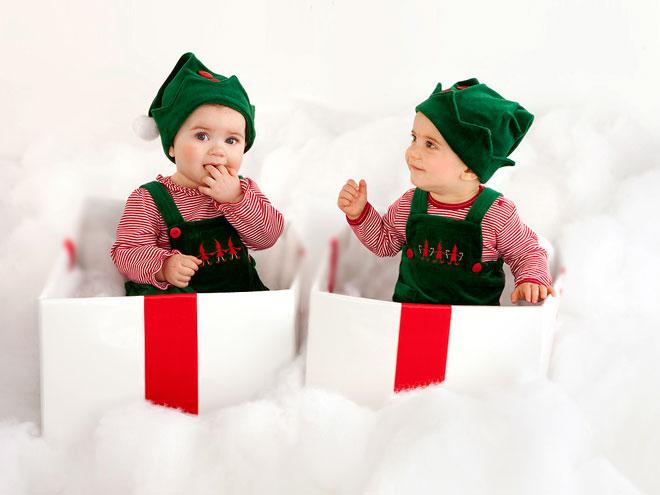 Neil Patrick Harris Twins Christmas
