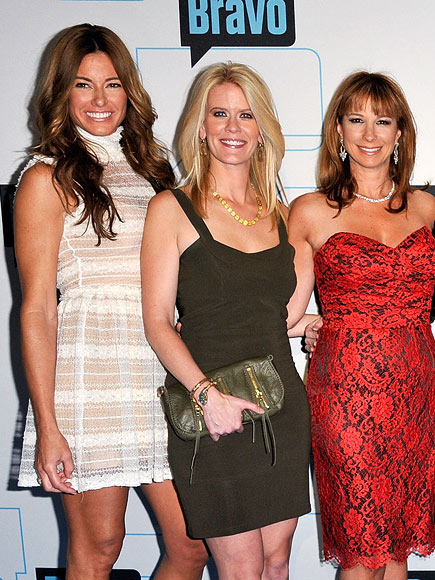 DOWN: THE REAL HOUSEWIVES OF N.Y. photo | Alex McCord, Jill Zarin, Kelly Bensimon