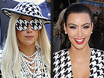 Kim vs. Hollywood: A Year of Fashion Faceoffs | Kim Kardashian, Lady Gaga