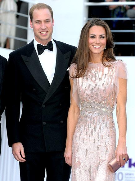 BLUSHING NEWLYWED  photo | Kate Middleton, Prince William