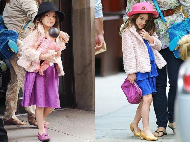 CHANGE OF A DRESS photo | Suri Cruise