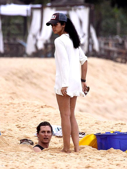 YA DIG? photo | Camila Alves, Matthew McConaughey