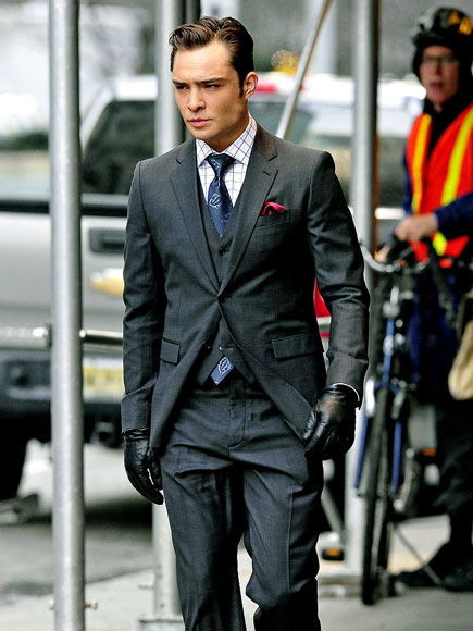 SUIT HIM UP photo | Ed Westwick