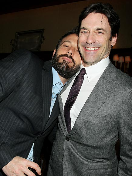 TOWN MEETING photo | Ben Affleck, Jon Hamm