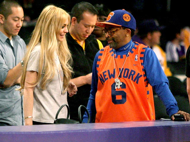 POWER PLAY photo | Lindsay Lohan, Spike Lee