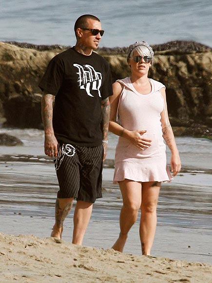 BEACH BABY photo | Carey Hart, Pink