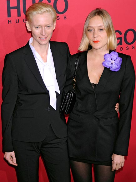 FASHIONABLE FRIENDS photo | Chlo\u00EB Sevigny, Tilda Swinton
