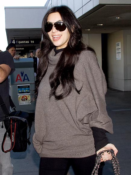 LANDING GEAR photo | Kim Kardashian