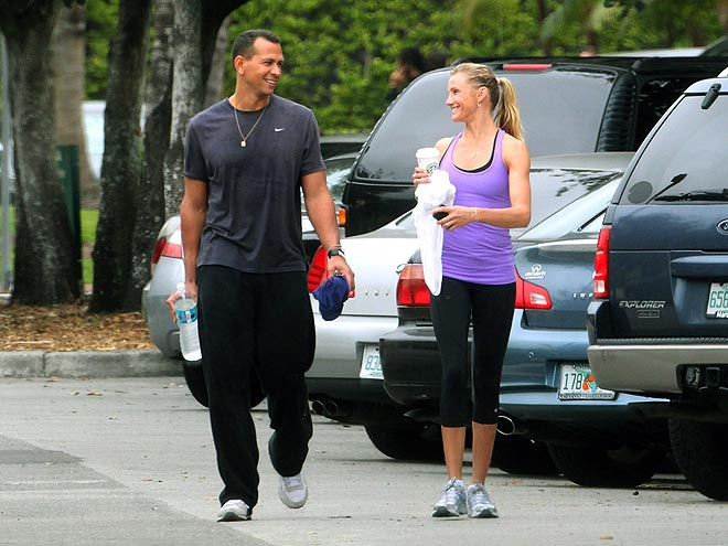 NO SWEAT photo | Alex Rodriguez, Cameron Diaz
