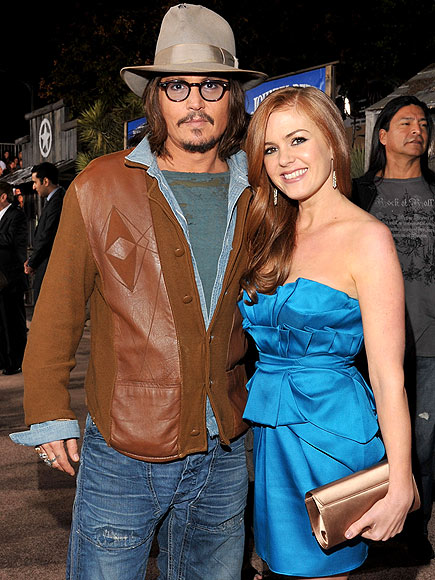 GOING WEST photo | Isla Fisher, Johnny Depp