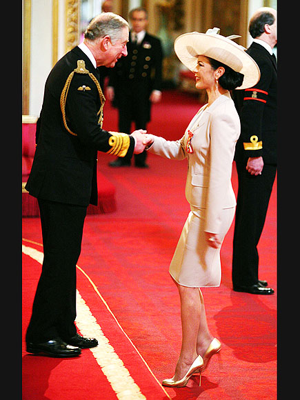 ROYAL WELCOME photo | Catherine Zeta-Jones, Prince Charles