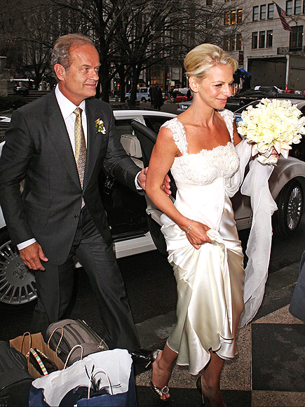 JUST MARRIED photo | Kelsey Grammer