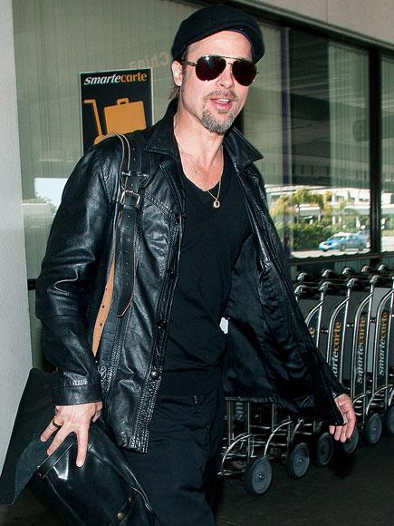 BACK IN BLACK photo | Brad Pitt