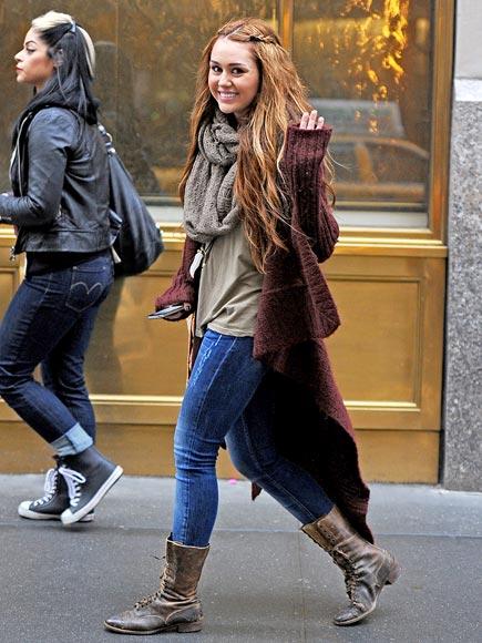 HAPPY GO LUCKY photo   Miley Cyrus