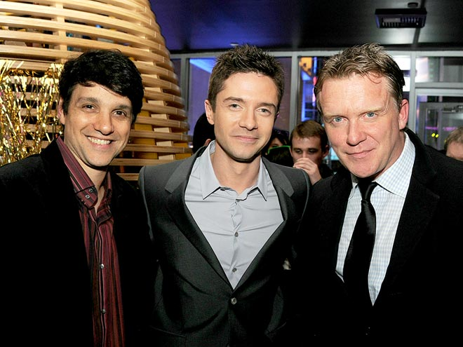 BACK TO THE PRESENT photo | Anthony Michael Hall, Ralph Macchio, Topher Grace