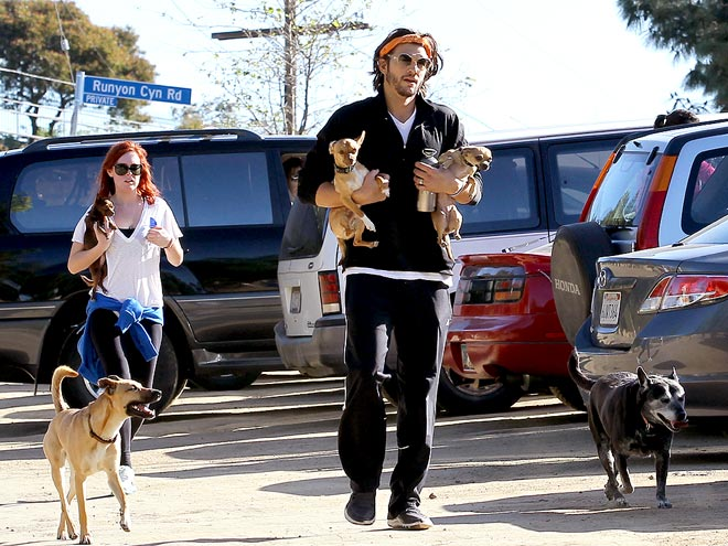 DOG RUN photo | Ashton Kutcher, Rumer Willis