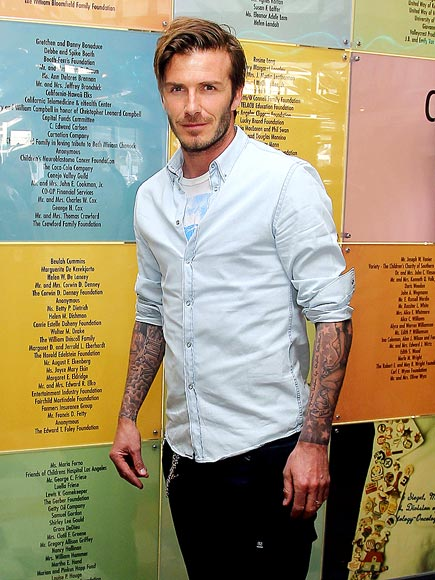 FACE TIME photo | David Beckham