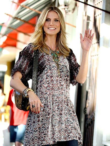 MODEL BEHAVIOR photo | Heidi Klum