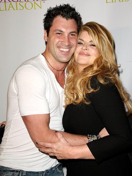 SUPPORT SYSTEM photo | Kirstie Alley, Maksim Chmerkovskiy
