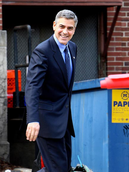 POLITICAL ACTION photo | George Clooney