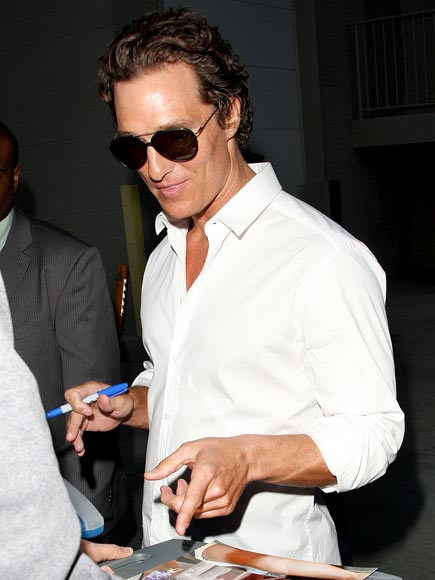 KEEP L-I-V-I-N' photo | Matthew McConaughey