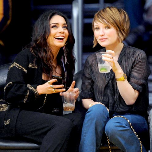 GAME ON photo | Emily Browning, Vanessa Hudgens