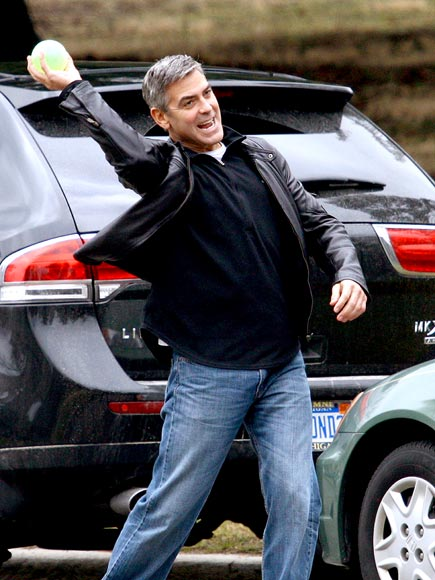 A TOSS UP  photo | George Clooney