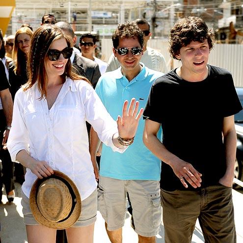 BUDDY SYSTEM  photo | Anne Hathaway, Jesse Eisenberg