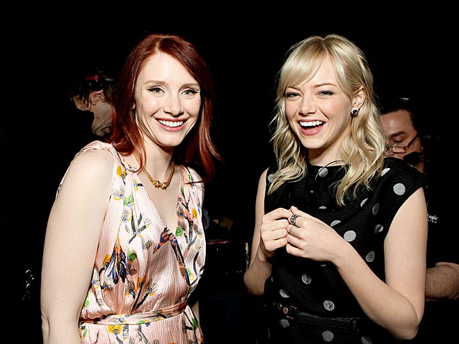 Bryce Dallas Howard and emma stone