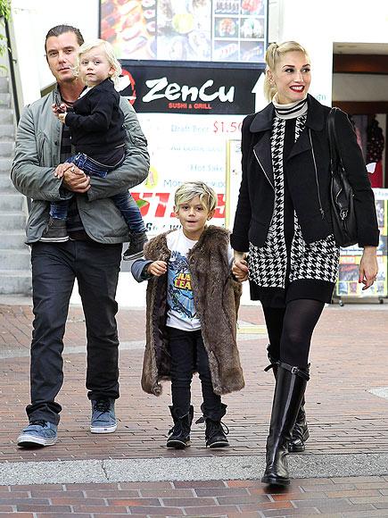 Modern Family photo | Gavin Rossdale, Gwen Stefani, Zuma Rossdale