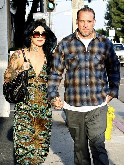 Jesse James & Kat Von D Feast on Rigatoni in California | Jesse James, Kat Von D