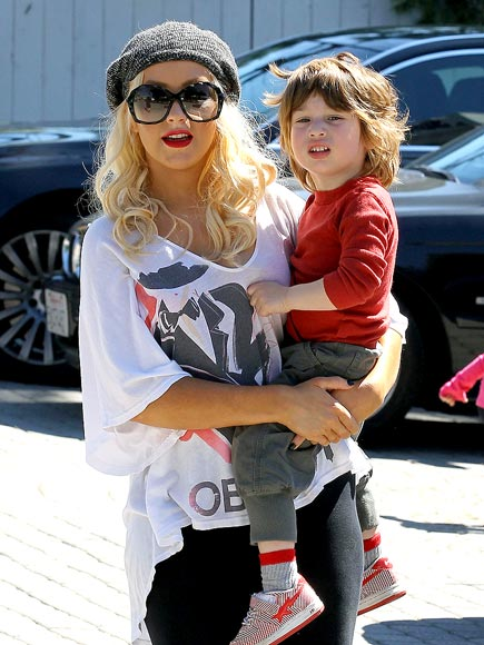 MAMA'S BOY photo | Christina Aguilera