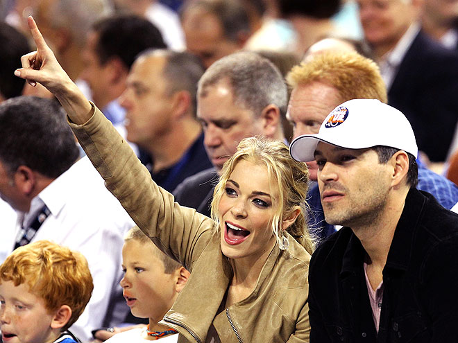 SPORTS NIGHT photo | Eddie Cibrian, LeAnn Rimes